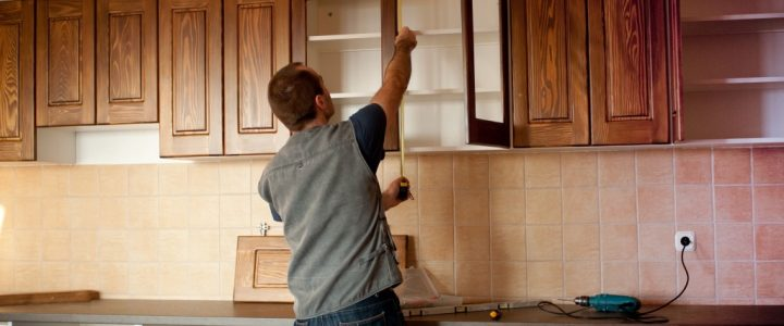 kitchen cabinet installation