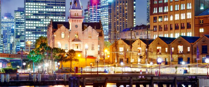 Tourist spots in Sydney