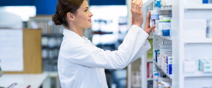 Scene inside a pharmacy