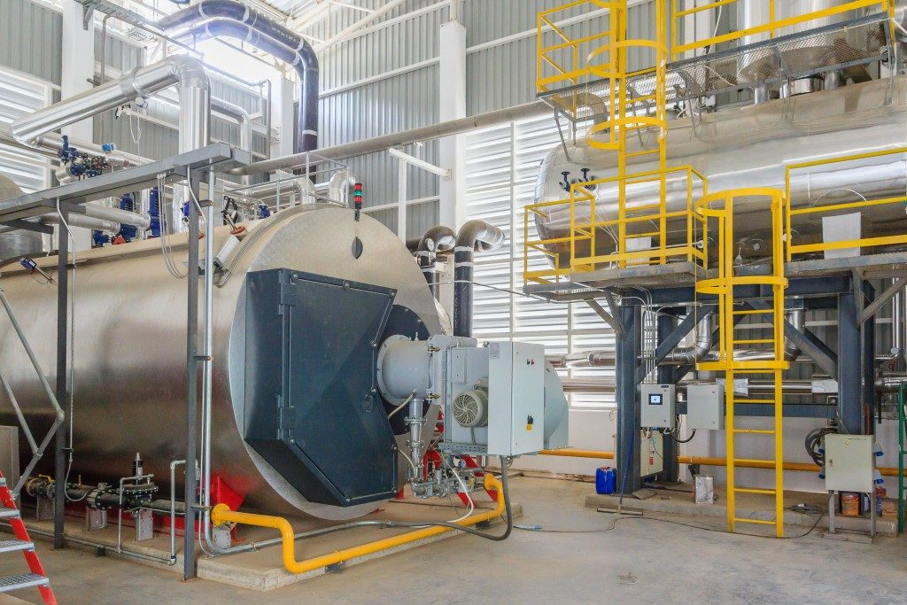 water treatment and management plant