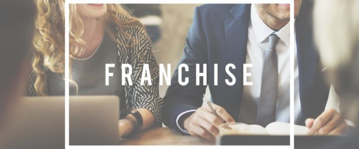 Franchising Business idea Concept