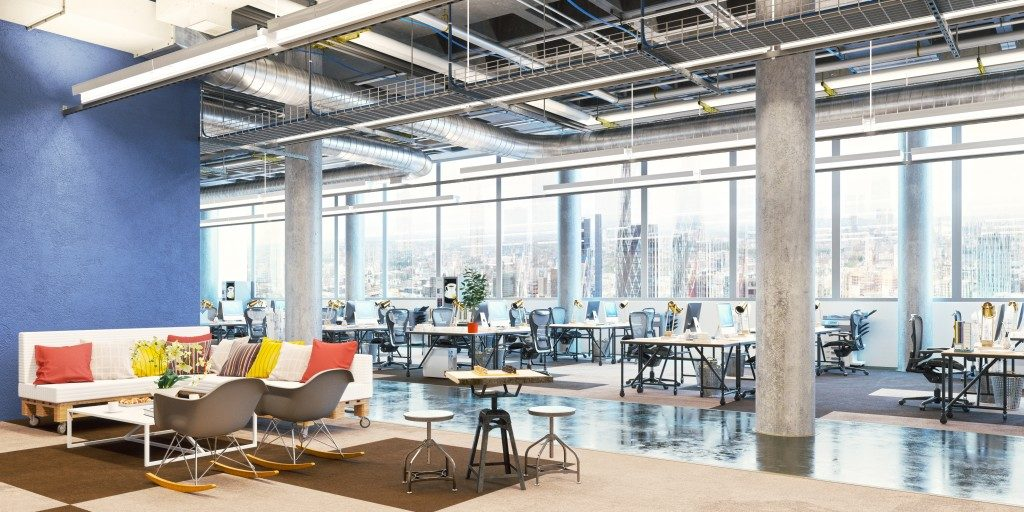 Modern office set up