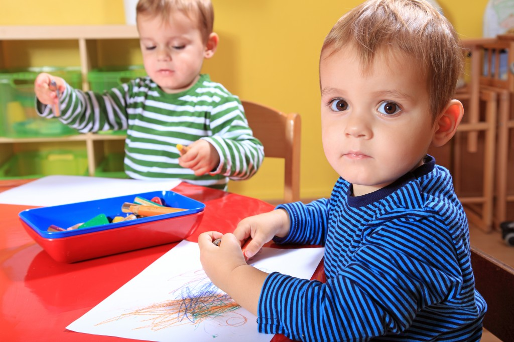a child at a nursery